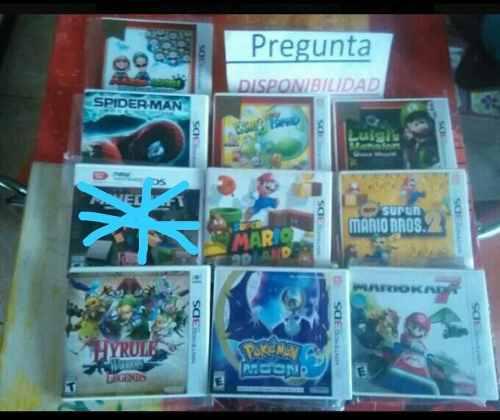 Juegos De Nintendo 3ds Precio X Cada Uno