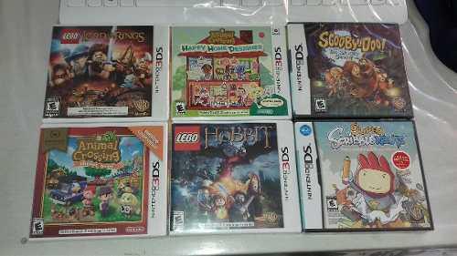 Lote De 6 Juegos Nuevos De 3ds Y Ds Animal Crossing,lego Y +