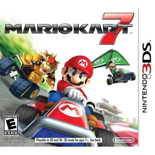Mario Kart 7 Nintendo 3ds Nuevo Y Sellado Msi