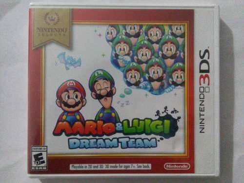 Mario Y Luigi Dream Team 3ds Nuevo Sellado Nintendo Trqs