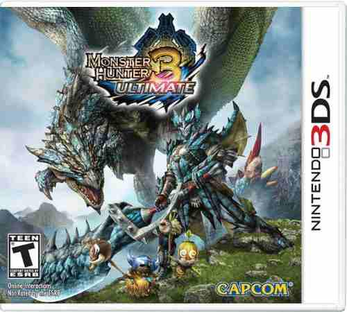 Monster Hunter 3 Ultimate Para Nintendo 3ds Nuevo