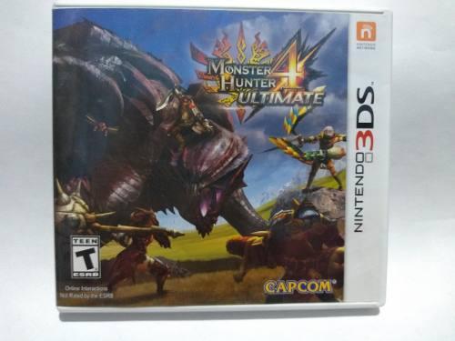 Monster Hunter 4 Ultimate Para Nintendo 3ds Videojuegos Leo