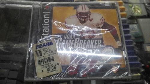 Ncaa Game Breaker 2001 Para Tu Playstation One Psone **
