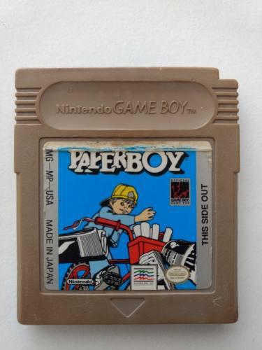 Paper Boy Nintendo Gameboy Videojuego Cartucho Original