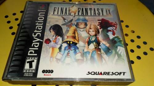 Playstation Final Fantasy Ix Completo Original Black Label