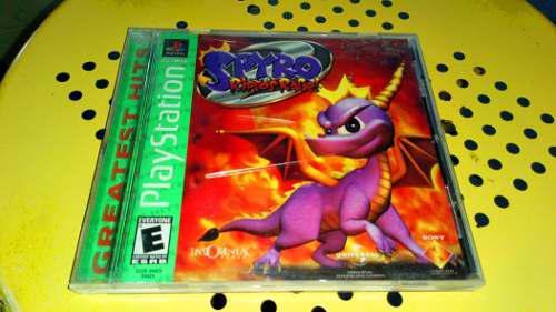 Playstation Spyro Riptos Rage Completo Original Con Envío