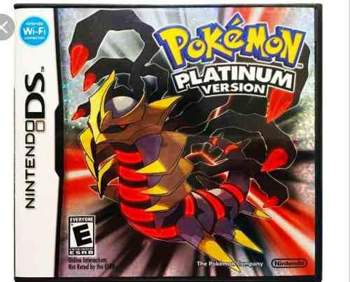 Pokemon Platinum Nuevo Sellado De Fabrica