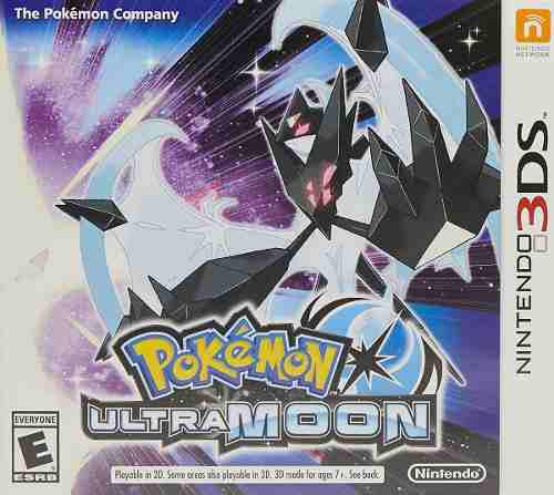 Pokemon Ultra Moon Nintendo 3ds Nuevo (en D3 Gamers)