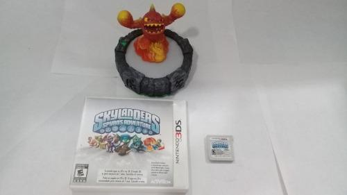 Portal Skylanders Spyros Adventure Con El Juego Nintendo 3ds