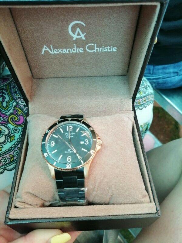 Reloj Alexandre Christie original