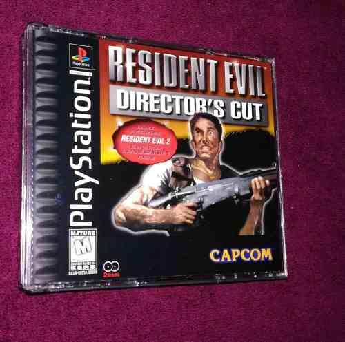 Resident Evil Directors Cut +resident Evil 4 En