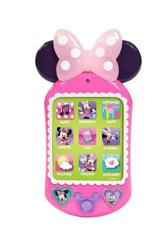 Telefono Con Sonidos Y Luces Reales De Minni Mouse Just Play