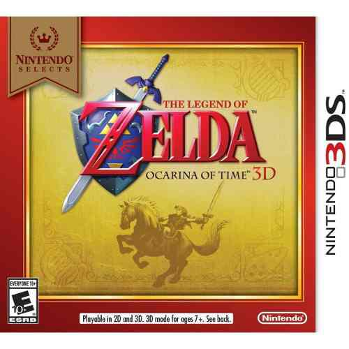 The Legend Of Zelda Ocarina Of Time 3ds 2ds Sellado Msi