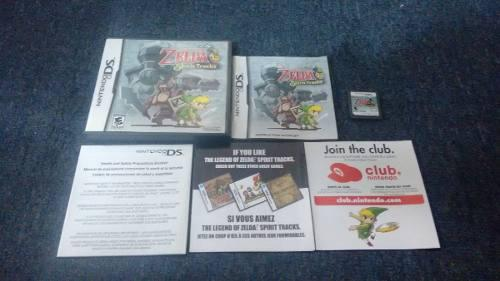 The Legend Of Zelda Spirit Track Completo Para Nintendo Ds.