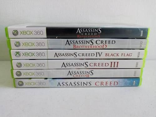3 Juegos A Escoger De Assassins Creed Xbox 360 Ii Iii Iv...