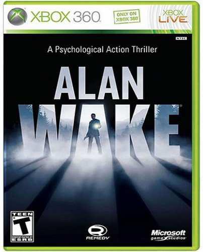 Alan Wake Xbox 360 Nuevo Y Sellado Juego Videojuego