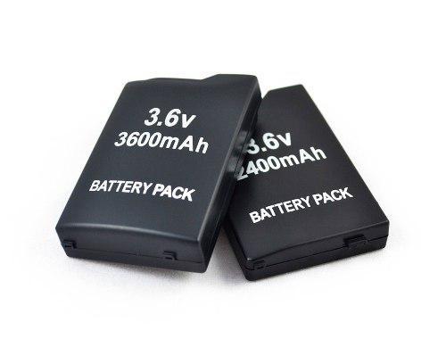 Batería Pila Recargable Para Psp Fat 3.6v 3600 Mah Con