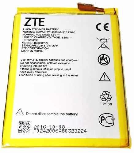 Bateria Pila Zte Blade V6 Max Nueva 4000 Mah + Envio Gratis