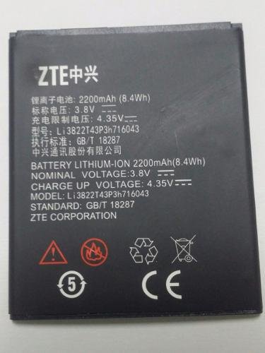 Bateria Pila Zte L7 2200mah 100%nueva Y Garantizada