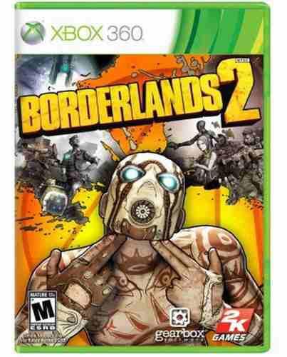 Borderlands 2 Xbox 360 Nuevo Y Sellado Juego Videojuego