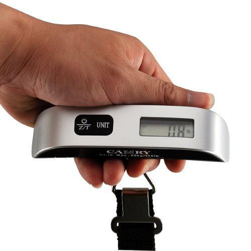 Báscula De Viaje Digital 50kg Portable Maletas Equipaje