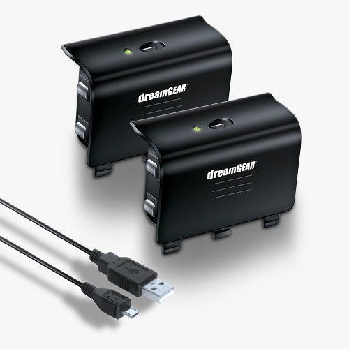 Cable Con 2 Baterias Recargables Para Control Xbox One Dream