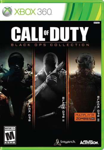 Call Of Duty Black Ops Collection Para Xbox 360