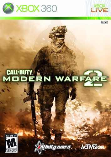 Call Of Duty Modern Warfare 2 Xbox 360 Portada Impresa Nuevo