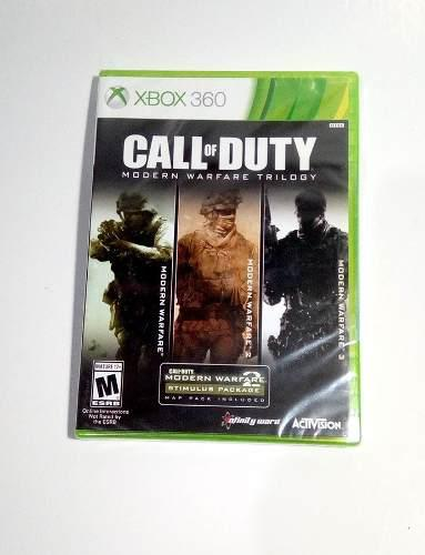 Call Of Duty Modern Warfare Trilogy Xbox 360 Nuevo