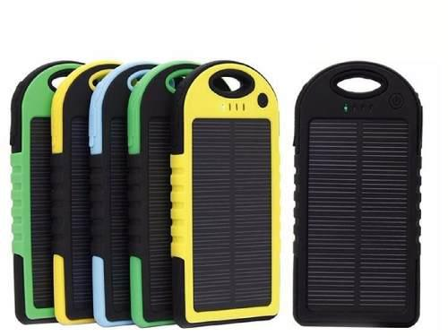 Cargador Solar Power Bank 12000 Mah Bateria Celular Lampara