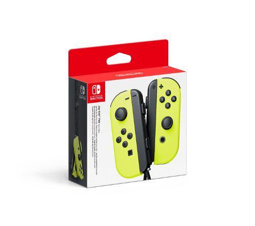 Control Joy Con Nintendo Switch Neon Amarillo + 2 Correas