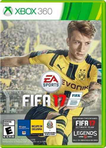 Fifa 17 Xbox 360 Nuevo Y Sellado (en D3 Gamers)