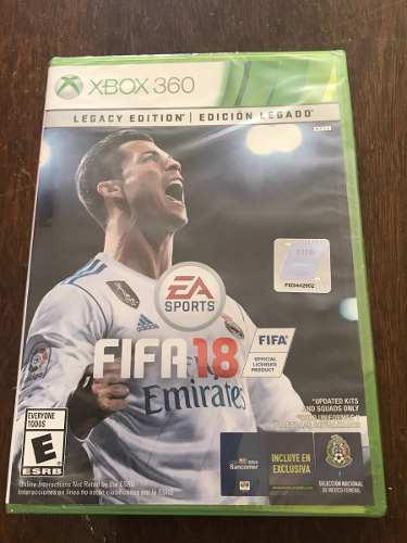 Fifa 18 Para Xbox 360 Nuevo Original