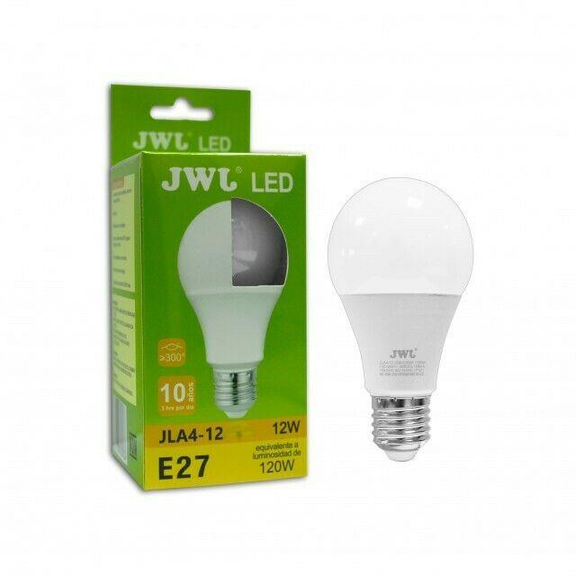 Foco LED Omnidireccional Bulbo De 12w Luz Bca O cálida