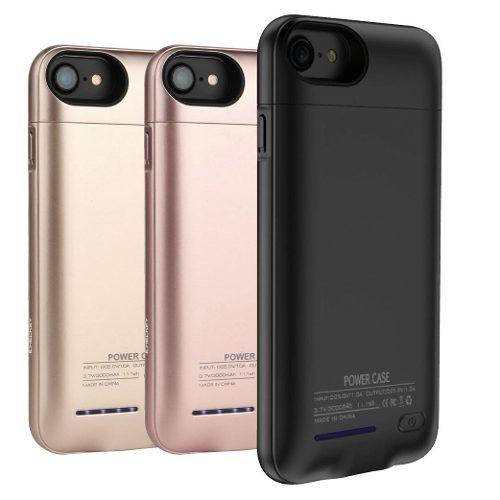 Funda Batería Externa iPhone 6+ 6s+ 7+ 8+ Plus 4200 Mah Eg
