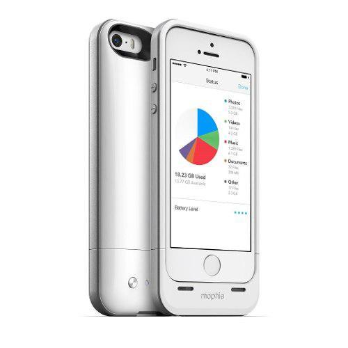 Funda Bateria Memoria 16gb iPhone 5 5s Se Mophie Space Pack