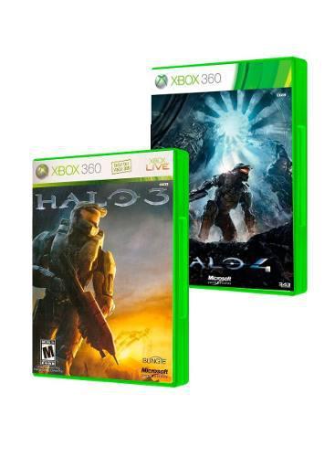 Halo 3 + Halo 4 Xbox 360 Seminuevos En Igamers