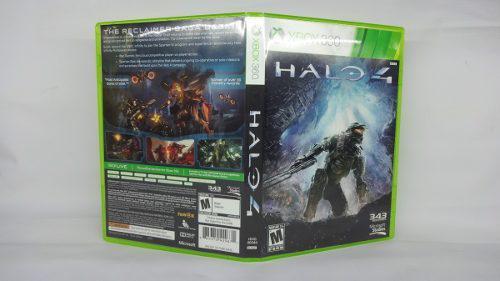 Halo 4 Xbox 360 Seminuevo Envío Incluido Garantizado
