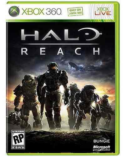 Halo Reach Xbox 360 Nuevo Y Sellado Juego Videojuego
