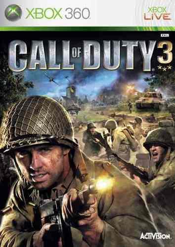 Juego Call Of Duty 3 Xbox 360 Usado Blakhelmet C