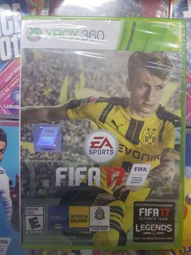 Juego Fifa 17 Xbox 360 Fisico Nuevo Sellado