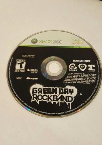 Juego Green Day Rock Band Usado Para Xbox 360 - Blakhelmet C
