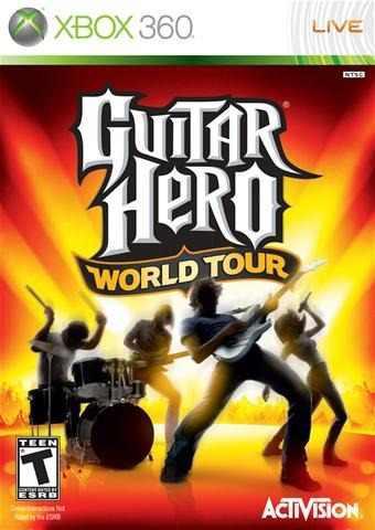 Juego Guitar Hero World Tour Xbox 360 Usado Blakhelmet C