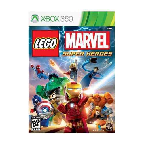 Juego Lego Marvel Super Heroes Xbox 360 Nuevo Original