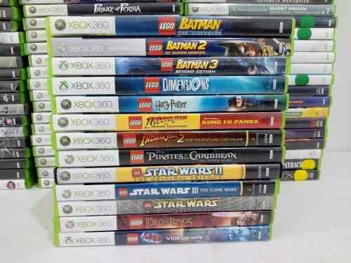 Juegos De Lego Xbox 360 Batman, Star Wars, Indiana Jones
