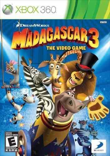 Juegos,madagascar 3 El Videojuego - Xbox 360