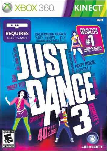 Just Dance 3 Xbox 360 Video Juego De Kinect