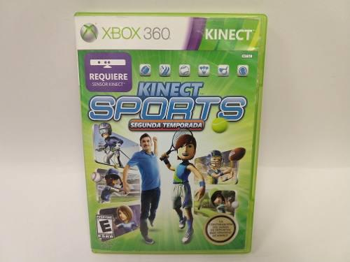 Kinect Sports Segunda Temporada Xbox 360 Juegazo Animate!