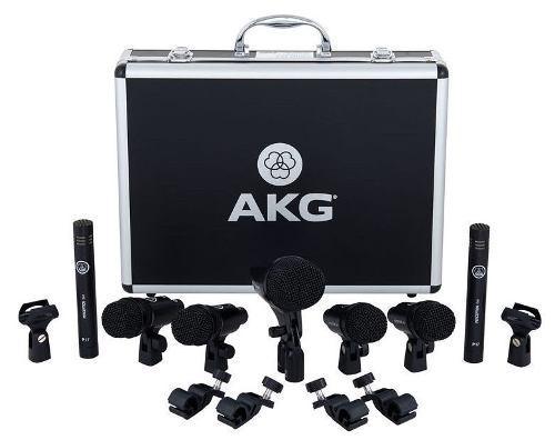 Kit Microfonos Bateria 7 Piezas Drum Set Session 1