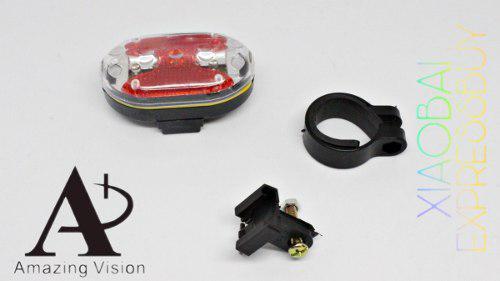 Lampara De Seguridad Para Bicicleta (mayoreo) Mod: 15410-6